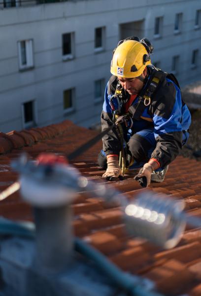 Travaux d'entretien courant et réfection selon norme en vigueur tout support de couverture
