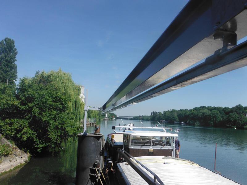 Lignes de vie rail sur potence & portique